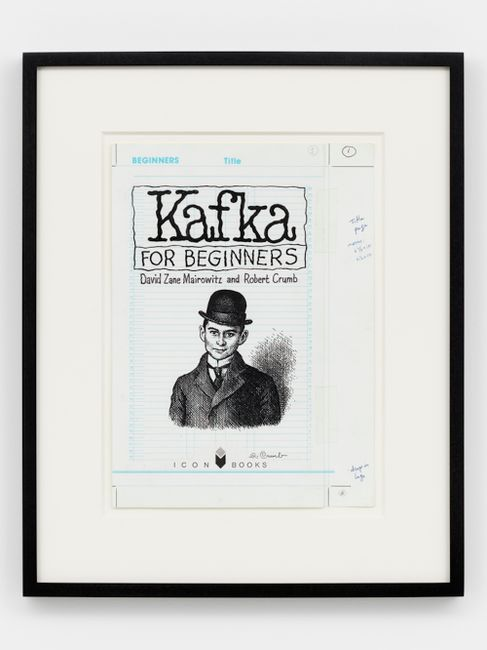 Kafka for Beginners, Page 1 by R. Crumb contemporary artwork