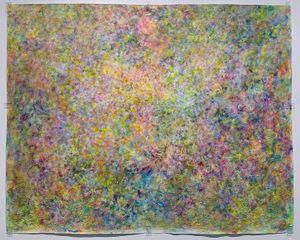 A Sunny Place by Rie Ono contemporary artwork painting, works on paper