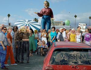 Big West by Alex Prager contemporary artwork