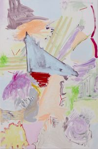 Wedge by Stella Corkery contemporary artwork painting, works on paper