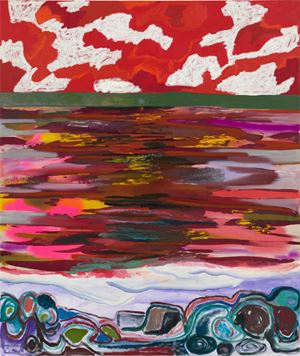 Radiant Sea by Shara Hughes contemporary artwork