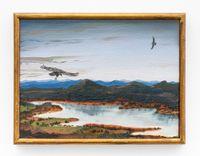 Estudios comparados de paisaje - Audio Pinturas Improvisaciones en el mirador de los Urubus, Trio para chelo, kayagum y pinturas by Alberto Baraya contemporary artwork painting