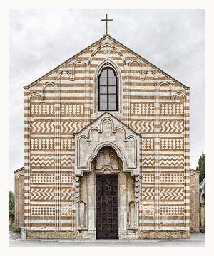 Brindisi, Santa Maria del Casale by Markus Brunetti contemporary artwork