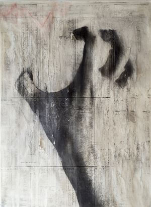 Untitled 2 (2020) by Peter Kennard contemporary artwork