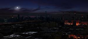Skyline by Stan Douglas contemporary artwork
