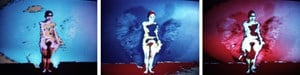 Butterfly by Ana Mendieta contemporary artwork