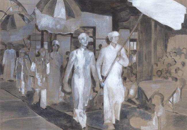 My Uncle Sao Myee 我的叔叔 by Sawangwongse  Yawnghwe contemporary artwork