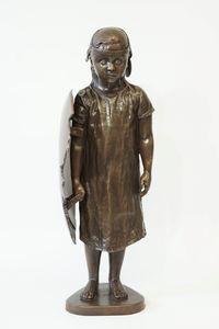 Sheild by Schoony contemporary artwork sculpture