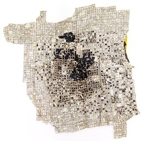 Tse by El Anatsui contemporary artwork