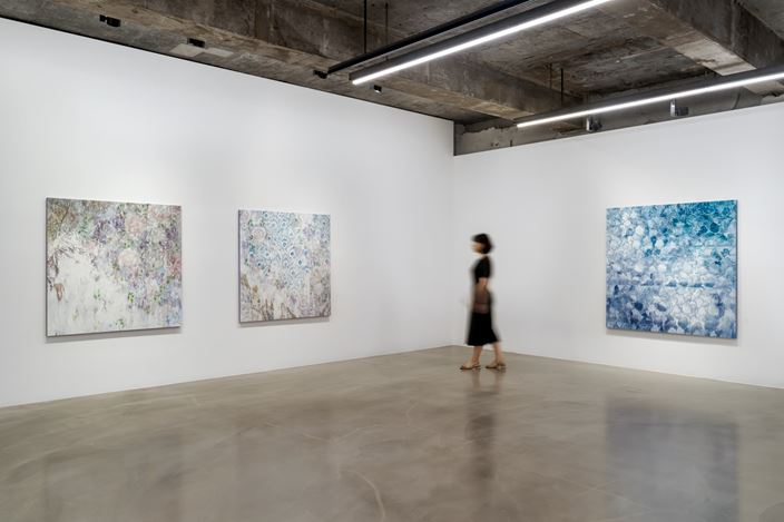 Yoon Suk One, Enfolding Landscape at Gallery Baton, Seoul (3 July – 7 August 2020). Courtesy of the Artist, Gallery Baton.