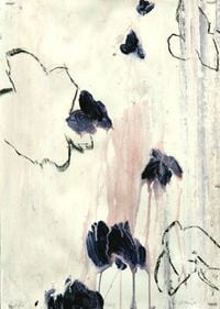 Natural by Victor Kraus contemporary artwork painting, works on paper