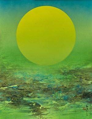 Moonlight of Jiu Zhaigo by Liu Kuo-Sung contemporary artwork