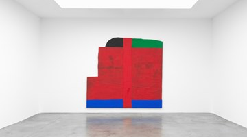 Contemporary art exhibition, Sterling Ruby, ECLPSE at Xavier Hufkens, St-Georges, Brussels