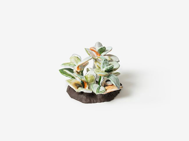 Green Leaves by Sodam Lim contemporary artwork