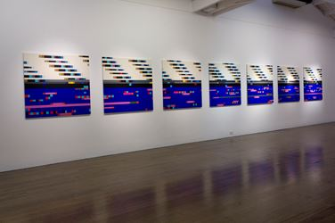 Exhibition view, Robert Owen at Arc One Gallery, Melbourne. Courtesy Arc One Gallery.