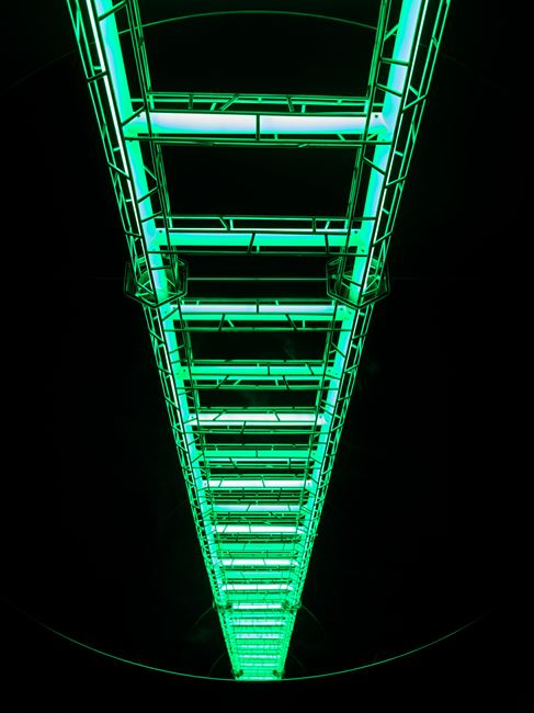 Ladder To Heaven by Yayoi Kusama contemporary artwork