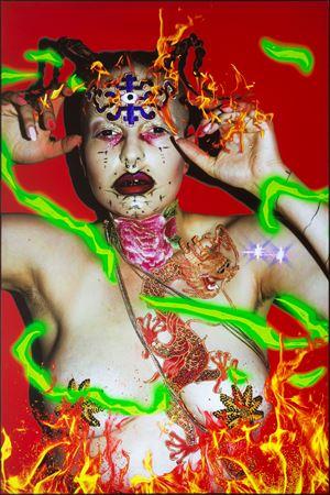 Ishvara Portrait - YLVA by Tianzhuo Chen contemporary artwork mixed media