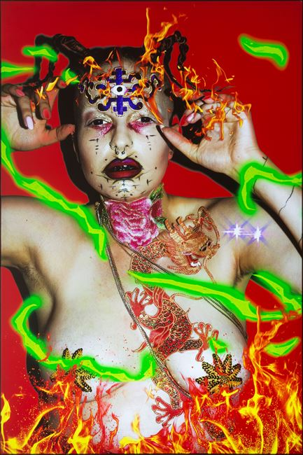 Ishvara Portrait - YLVA by Tianzhuo Chen contemporary artwork
