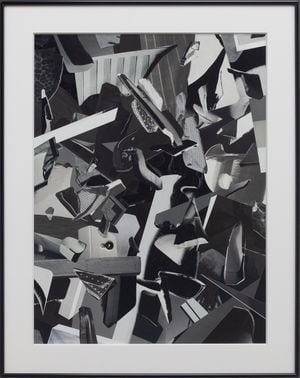 Metro Series (Debris) by Gary-Ross Pastrana contemporary artwork painting, works on paper, photography, print