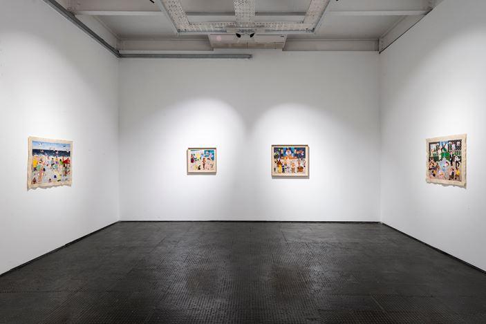 Exhibition room: Michaela Younge, Artist Room, SMAC Gallery (17 October–14 November 2020). Courtesy SMAC Gallery.