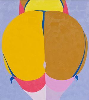 Yellow Moon by Helen Beard contemporary artwork