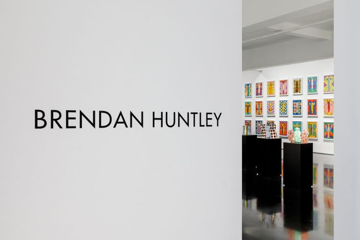 Exhibition view: Brendan Huntley, Without Within, Tolarno Galleries, Melbourne (17 April–15 May 2021). Courtesy Tolarno Galleries.