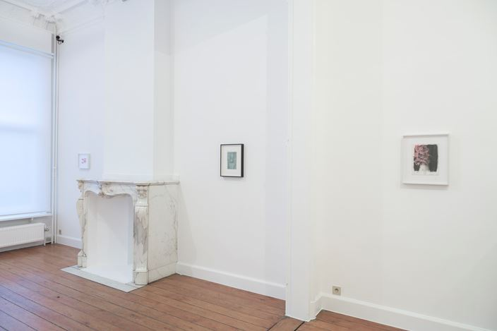 Exhibition view: Group Exhibition, Works on Paper, Zeno X Gallery, Leopold De Waelplaats, Antwerp (13 January–20 February 2021). Courtesy Zeno X Gallery.