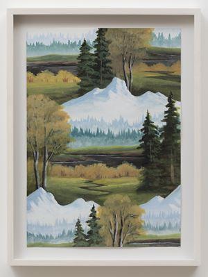 Black River Mountain by Neil Raitt contemporary artwork