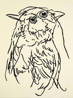 Untitled (Bird) by Ryan Mrozowski contemporary artwork