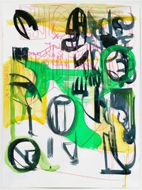 Matrix by Jihyun Lee contemporary artwork painting, works on paper, drawing