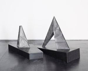 Sculpture - Separated Mountain - by Katsuhiro Yamaguchi contemporary artwork