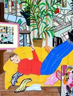 Roy Lichtenstein by Eszter Chen contemporary artwork