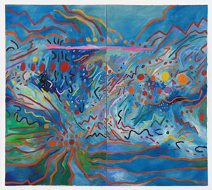 Radiation Explorations 12 by Mildred Thompson contemporary artwork