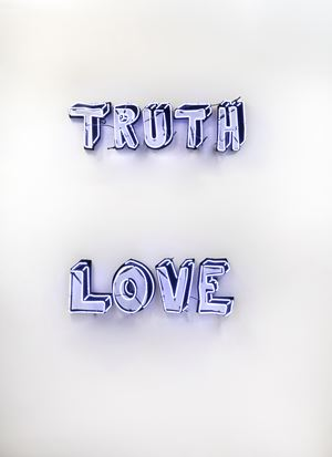 Real Truth & Love by Tobias Rehberger contemporary artwork