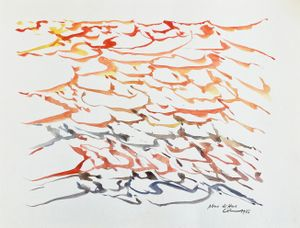 Plus diffus by Jacques Calonne contemporary artwork