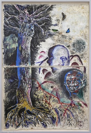The Heads of Thearchy by Sun Xun contemporary artwork