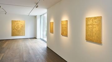 Contemporary art exhibition, Stefan Brüggemann, UNTITLED ACTION (GOLD PAINTINGS) at Hauser & Wirth, St. Moritz