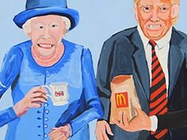 Art Basel's buzziest exhibit makes fun of global despots