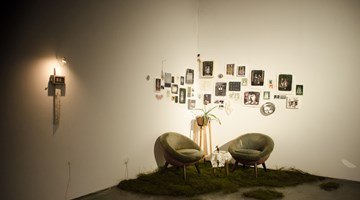 Contemporary art exhibition, Lin Shan, Living Room at ShanghART, M50, Shanghai