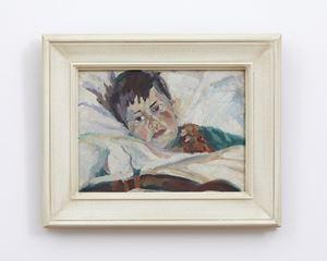 Portrait of Matthew Hamblett by Anne Hamblett contemporary artwork