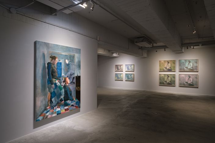 Exhibition view: Ana Maria Micu, Objects Must Be Comfortable,Mind Set Art Center, Taipei (29 June–19 August 2021). Courtesy Mind Set Art Center.