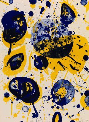 An 8 Set (5) by Sam Francis contemporary artwork