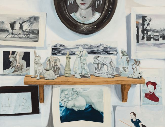 Studio Wall by Melora Kuhn contemporary artwork