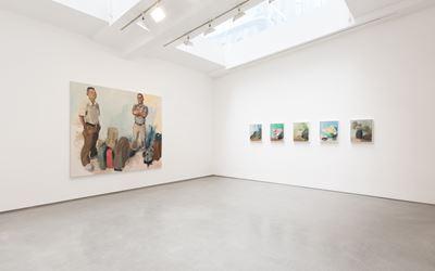 Exhibition view: John Sonsini, Solo Exhibition, Ameringer   McEnery   Yohe, New York (11 February–12 March 2016). Courtesy Ameringer   McEnery   Yohe, New York.