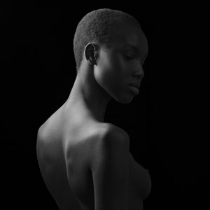 Woman - Ethiopia 1 by Jean-Baptiste Huynh contemporary artwork