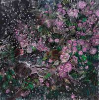 Jealous Night in Flowery Wind No.1 一夜妒花風—1 by Shen Ling contemporary artwork painting
