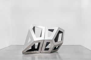 Twofold Way CD (Black) by Richard Deacon contemporary artwork sculpture