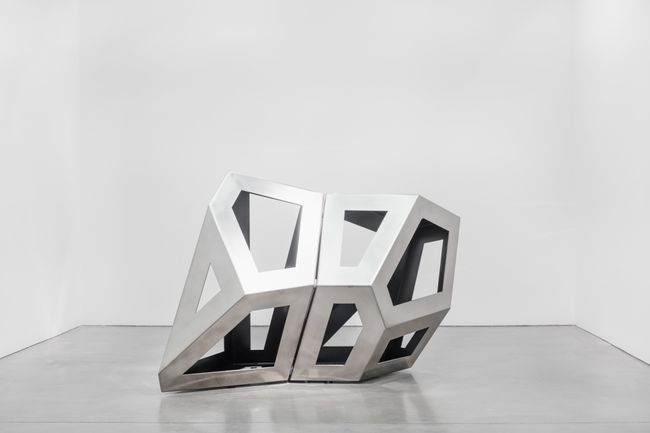 Twofold Way CD (Black) by Richard Deacon contemporary artwork