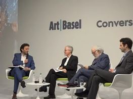 Artist talk - The Alberto Burri Case | 2018 | Art Basel Basel