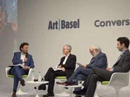 Artist talk - The Alberto Burri Case | 2018 | Art Basel Basel